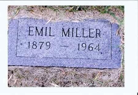 MILLER, EMIL - McIntosh County, North Dakota | EMIL MILLER - North Dakota Gravestone Photos