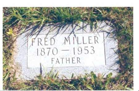 MILLER, FRED - McIntosh County, North Dakota | FRED MILLER - North Dakota Gravestone Photos