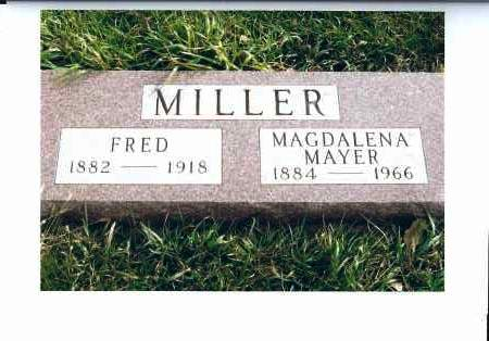 MILLER, MAGDALENA - McIntosh County, North Dakota | MAGDALENA MILLER - North Dakota Gravestone Photos