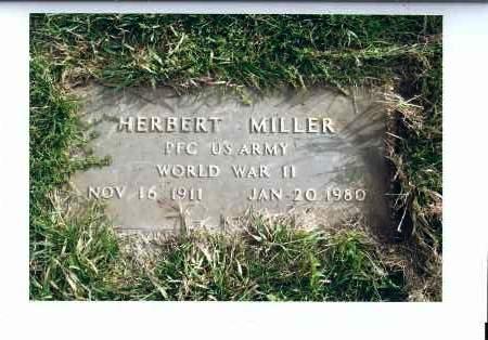MILLER, HERBERT - McIntosh County, North Dakota | HERBERT MILLER - North Dakota Gravestone Photos