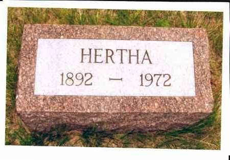MILLER, HERTHA - McIntosh County, North Dakota | HERTHA MILLER - North Dakota Gravestone Photos