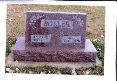 MILLER, ISADORE - McIntosh County, North Dakota | ISADORE MILLER - North Dakota Gravestone Photos