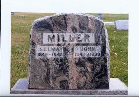 MILLER, SELMA - McIntosh County, North Dakota | SELMA MILLER - North Dakota Gravestone Photos