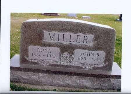 MILLER, JOHN B. - McIntosh County, North Dakota | JOHN B. MILLER - North Dakota Gravestone Photos
