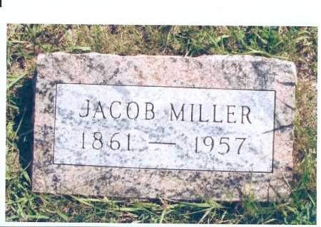 MILLER, JACOB - McIntosh County, North Dakota   JACOB MILLER - North Dakota Gravestone Photos