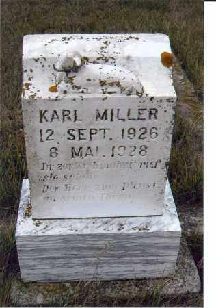 MILLER, KARL - McIntosh County, North Dakota | KARL MILLER - North Dakota Gravestone Photos
