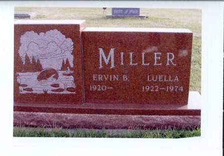 MILLER, LUELLA - McIntosh County, North Dakota | LUELLA MILLER - North Dakota Gravestone Photos