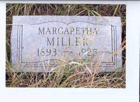MILLER, MARGARETHA - McIntosh County, North Dakota | MARGARETHA MILLER - North Dakota Gravestone Photos