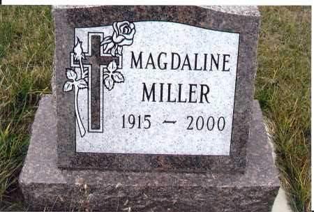 MILLER, MAGDALINE - McIntosh County, North Dakota | MAGDALINE MILLER - North Dakota Gravestone Photos