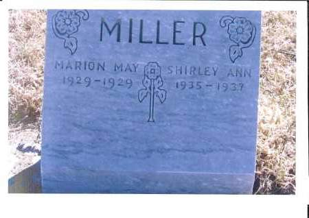 MILLER, MARION MAY - McIntosh County, North Dakota | MARION MAY MILLER - North Dakota Gravestone Photos