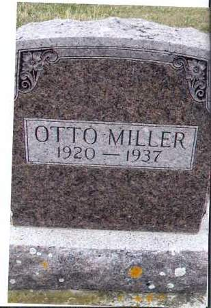 MILLER, OTTO - McIntosh County, North Dakota | OTTO MILLER - North Dakota Gravestone Photos