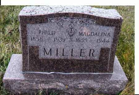 MILLER, MAGDALINA - McIntosh County, North Dakota | MAGDALINA MILLER - North Dakota Gravestone Photos