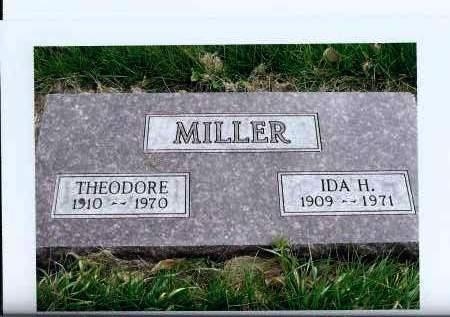 MILLER, IDA H. - McIntosh County, North Dakota | IDA H. MILLER - North Dakota Gravestone Photos