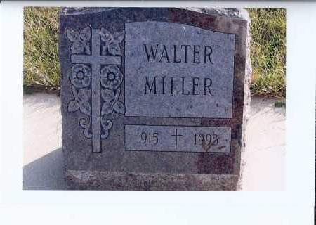 MILLER, WALTER - McIntosh County, North Dakota   WALTER MILLER - North Dakota Gravestone Photos