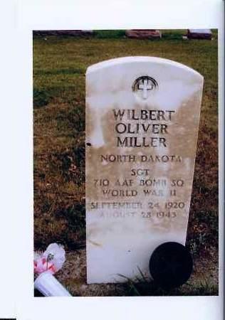 MILLER, WILBERT OLIVER - McIntosh County, North Dakota | WILBERT OLIVER MILLER - North Dakota Gravestone Photos
