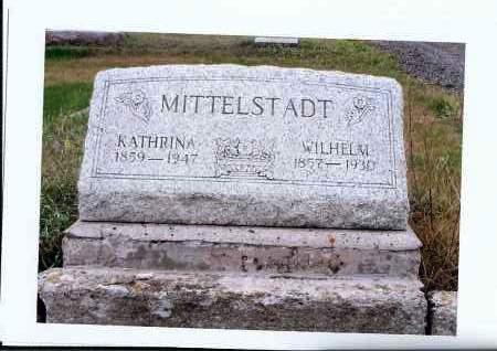 MITTELSTADT, KATHRINA - McIntosh County, North Dakota | KATHRINA MITTELSTADT - North Dakota Gravestone Photos