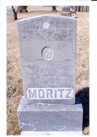 MORITZ, KAROLINA - McIntosh County, North Dakota | KAROLINA MORITZ - North Dakota Gravestone Photos