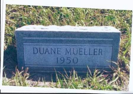 MUELLER, DUANE - McIntosh County, North Dakota | DUANE MUELLER - North Dakota Gravestone Photos