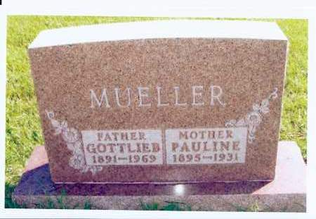 REICH MUELLER, PAULINE - McIntosh County, North Dakota | PAULINE REICH MUELLER - North Dakota Gravestone Photos