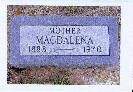 MUELLER, MAGDALENA - McIntosh County, North Dakota | MAGDALENA MUELLER - North Dakota Gravestone Photos
