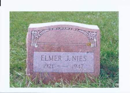NIES, ELMER J. - McIntosh County, North Dakota | ELMER J. NIES - North Dakota Gravestone Photos