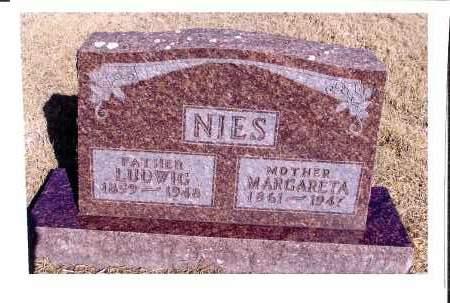 NIES, LUDWIG - McIntosh County, North Dakota | LUDWIG NIES - North Dakota Gravestone Photos
