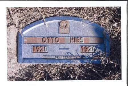 NIES, OTTO - McIntosh County, North Dakota | OTTO NIES - North Dakota Gravestone Photos