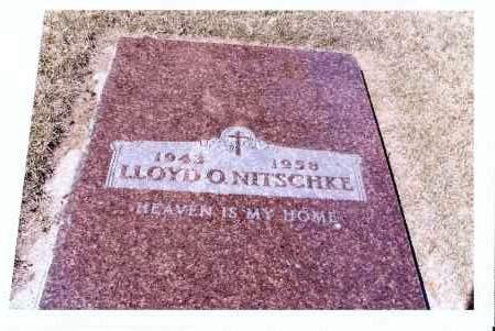 NITSCHKE, LLOYD O. - McIntosh County, North Dakota | LLOYD O. NITSCHKE - North Dakota Gravestone Photos