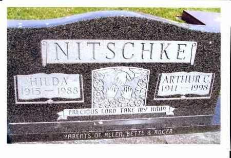 NITSCHKE, HILDA - McIntosh County, North Dakota | HILDA NITSCHKE - North Dakota Gravestone Photos