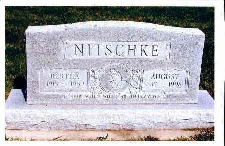 NITSCHKE, BERTHA - McIntosh County, North Dakota | BERTHA NITSCHKE - North Dakota Gravestone Photos