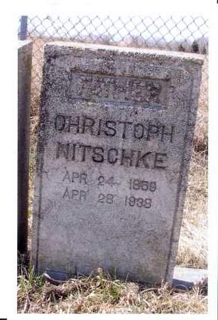 NITSCHKE, CHRISTOPH - McIntosh County, North Dakota | CHRISTOPH NITSCHKE - North Dakota Gravestone Photos
