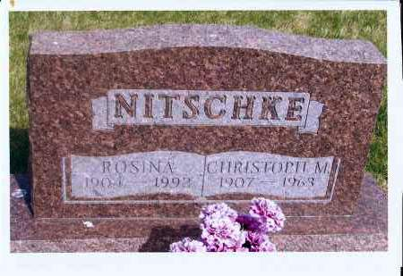 NITSCHKE, CHRISTOPH M. - McIntosh County, North Dakota | CHRISTOPH M. NITSCHKE - North Dakota Gravestone Photos