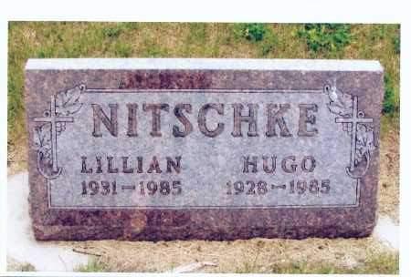 NITSCHKE, LILLIAN - McIntosh County, North Dakota | LILLIAN NITSCHKE - North Dakota Gravestone Photos
