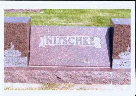 NITSCHKE, PAULINE - McIntosh County, North Dakota | PAULINE NITSCHKE - North Dakota Gravestone Photos