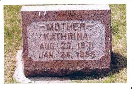 NITSCHKE, KATHRINA - McIntosh County, North Dakota | KATHRINA NITSCHKE - North Dakota Gravestone Photos
