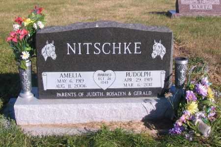 NITSCHKE, RUDOLPH - McIntosh County, North Dakota | RUDOLPH NITSCHKE - North Dakota Gravestone Photos