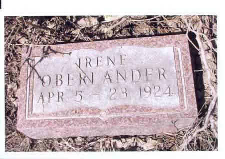 OBERLANDER, IRENE - McIntosh County, North Dakota | IRENE OBERLANDER - North Dakota Gravestone Photos