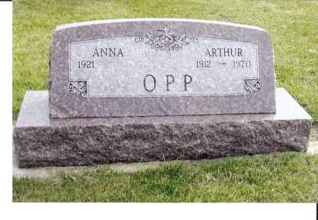 OPP, ARTHUR - McIntosh County, North Dakota | ARTHUR OPP - North Dakota Gravestone Photos