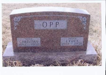 LAUTT OPP, LYDIA - McIntosh County, North Dakota | LYDIA LAUTT OPP - North Dakota Gravestone Photos