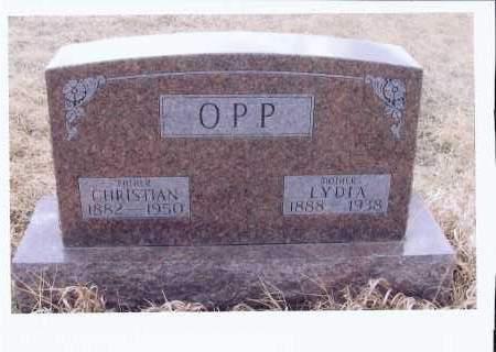 OPP, LYDIA - McIntosh County, North Dakota | LYDIA OPP - North Dakota Gravestone Photos