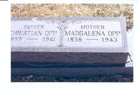OPP, MAGDALENA - McIntosh County, North Dakota | MAGDALENA OPP - North Dakota Gravestone Photos