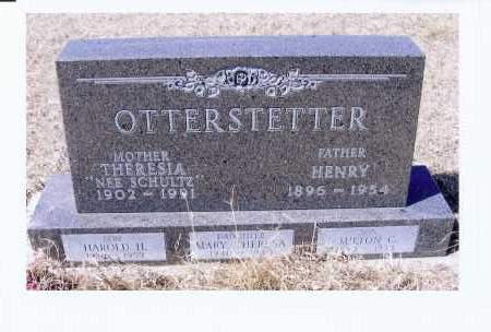 OTTERSTETTER, MARY THERESA - McIntosh County, North Dakota | MARY THERESA OTTERSTETTER - North Dakota Gravestone Photos