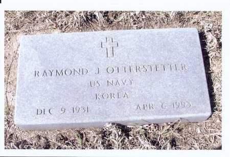 OTTERSTETTER, RAYMOND J. - McIntosh County, North Dakota | RAYMOND J. OTTERSTETTER - North Dakota Gravestone Photos