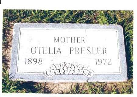 PRESLER, OTELIA - McIntosh County, North Dakota | OTELIA PRESLER - North Dakota Gravestone Photos