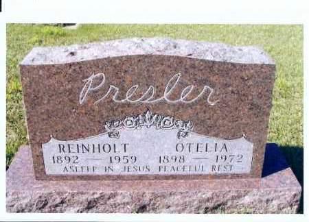PRESLER, OTELIA - McIntosh County, North Dakota | OTELIA PRESLER - North Dakota Gravestone Photos