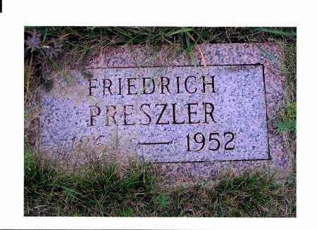 PRESZLER, FRIEDRICH - McIntosh County, North Dakota | FRIEDRICH PRESZLER - North Dakota Gravestone Photos