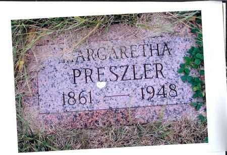 GUTHMILLER PRESZLER, MARGARETHA - McIntosh County, North Dakota | MARGARETHA GUTHMILLER PRESZLER - North Dakota Gravestone Photos