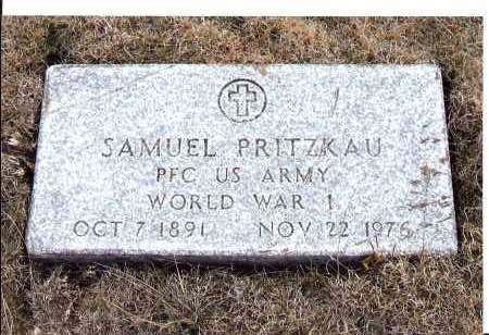 PRITZKAU, SAMUEL - McIntosh County, North Dakota | SAMUEL PRITZKAU - North Dakota Gravestone Photos