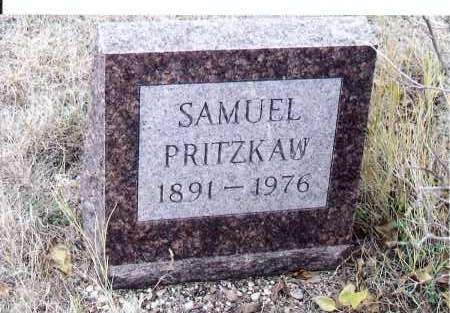 PRITZKAU, SAMUEL - McIntosh County, North Dakota | SAMUEL PRITZKAU - North Dakota Gravestone Photos