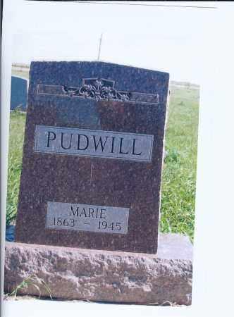 PUDWILL, MARIE - McIntosh County, North Dakota | MARIE PUDWILL - North Dakota Gravestone Photos